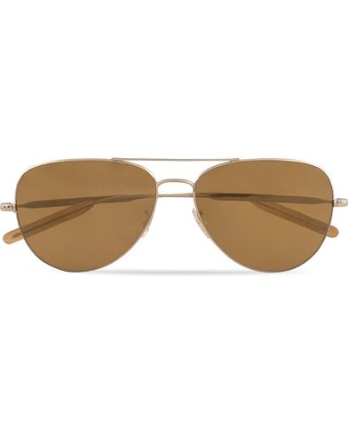 Paul Smith Davison Sunglasses Soft Gold Mirror  i gruppen Assesoarer hos Care of Carl (13335510)
