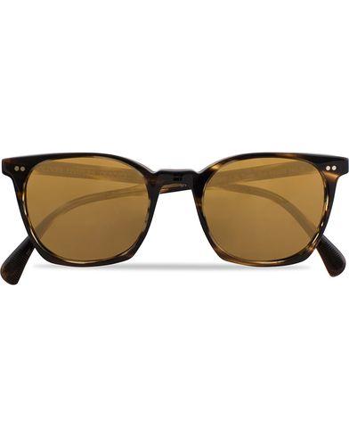 Oliver Peoples L.A Coen Sunglasses Cocobolo Havana/Champagne  i gruppen Solbriller / Firkantede solbriller hos Care of Carl (13336510)