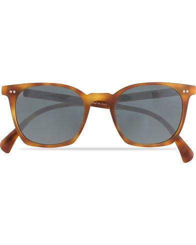 Oliver Peoples L.A Coen Sunglasses Matte Havana/Indigo  i gruppen Solbriller / Firkantede solbriller hos Care of Carl (13336610)