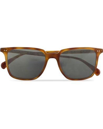 Oliver Peoples Opll Sunglasses Havana/Indigo  i gruppen Assesoarer / Solbriller / Firkantede solbriller hos Care of Carl (13336910)