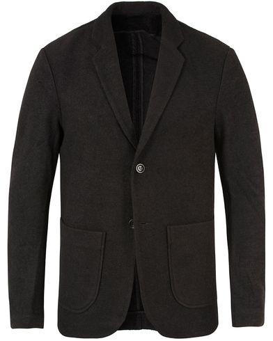 Filippa K Daniel Jersey Jacket Black i gruppen Kavajer / Enkelknäppta kavajer hos Care of Carl (13338211r)