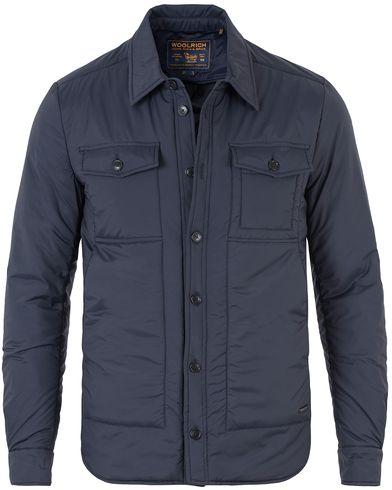 Woolrich Comfort Shirt Jacket Navy i gruppen Jackor / Tunna jackor hos Care of Carl (13338811r)