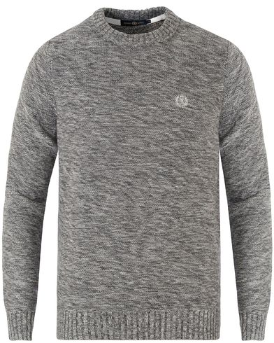 Henri Lloyd Hagmore Regular Crew Neck Knit Graphite Marl i gruppen Gensere / Strikkede gensere hos Care of Carl (13340011r)