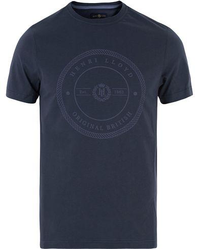 Henri Lloyd James Regular Tee Navy i gruppen Kläder / T-Shirts / Kortärmade t-shirts hos Care of Carl (13340511r)