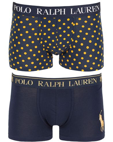Polo Ralph Lauren 2-Pack Gift Box Pouch Trunk Cruise Navy/Polka Dot i gruppen Underkläder / Kalsonger hos Care of Carl (13343711r)