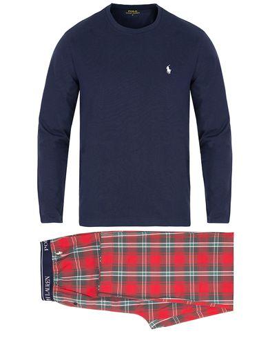 Polo Ralph Lauren Sleepwear Gift Box Set Cruise Navy/Baird Plaid i gruppen Kläder / Underkläder / Pyjamas / Pyjamasset hos Care of Carl (13343911r)