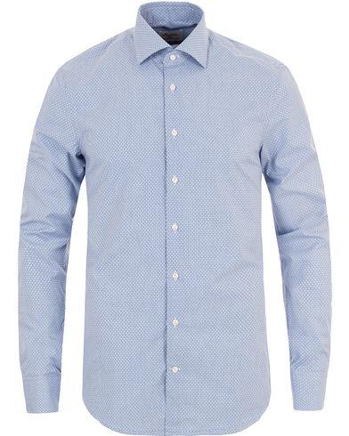Stenströms Slimline Check Shirt Blue i gruppen Klær / Skjorter / Casual skjorter hos Care of Carl (13344011r)