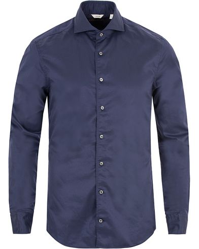 Stenströms Slimline Shirt Navy i gruppen Skjortor / Casual skjortor hos Care of Carl (13344411r)