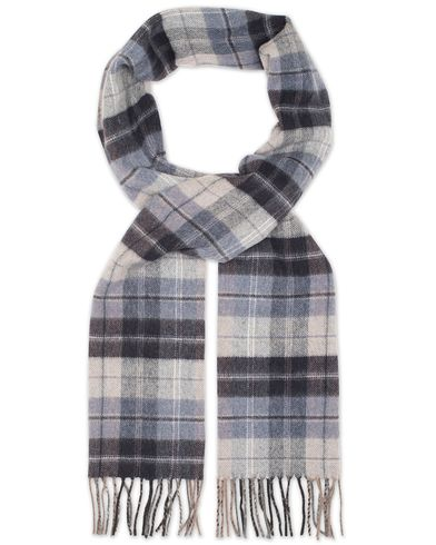 Eton Check Wool Scarves Blue  i gruppen Accessoarer / Halsdukar hos Care of Carl (13347410)