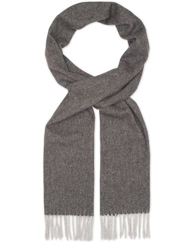 Eton Wool Scarves Black  i gruppen Accessoarer / Halsdukar hos Care of Carl (13347810)