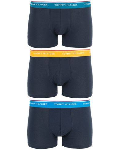 Tommy Hilfiger Premium Ess Trunk 3-Pack Navy i gruppen Klær / Undertøy hos Care of Carl (13448911r)