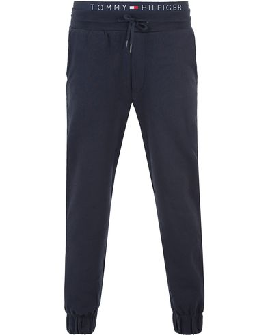 Tommy Hilfiger Icon Jersey Sweatpants Navy Blazer i gruppen Bukser / Joggebukser hos Care of Carl (13449411r)