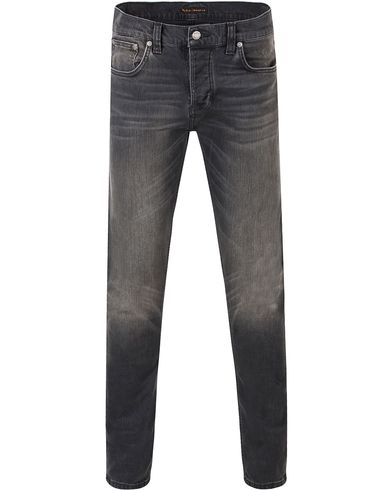 Nudie Jeans Grim Tim Organic Slim Fit Stretch Jeans Dark D i gruppen Jeans / Smala jeans hos Care of Carl (13451611r)