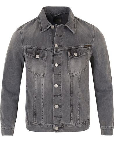 Nudie Jeans Billy Jeans Pocket Jacket Desolation Grey i gruppen Jackor / Tunna jackor hos Care of Carl (13452411r)