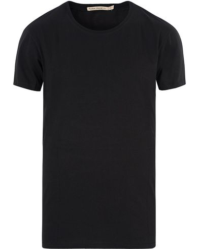 Nudie Jeans Olle Oversize Crew Neck Tee Black i gruppen Kläder / T-Shirts hos Care of Carl (13453011r)