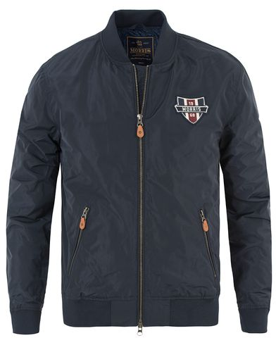 Morris Morgan Jacket Old Blue i gruppen Design A / Jackor / Bomberjackor hos Care of Carl (13454011r)