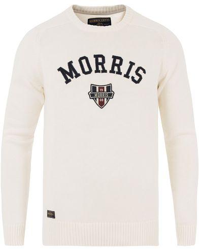 Morris Sayer Knit Off White i gruppen Tröjor / Stickade tröjor hos Care of Carl (13454111r)