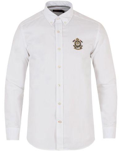 Morris Douglas Embo Shirt White i gruppen Klær / Skjorter / Casual skjorter hos Care of Carl (13455111r)