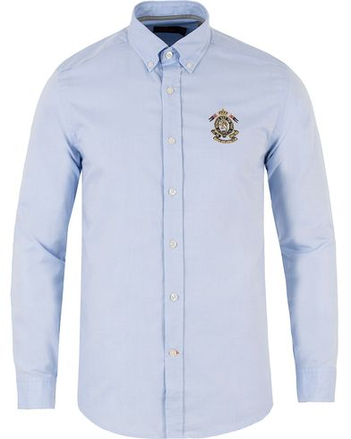 Morris Douglas Embo Shirt Light Blue i gruppen Design A / Skjorter / Casual skjorter hos Care of Carl (13455211r)