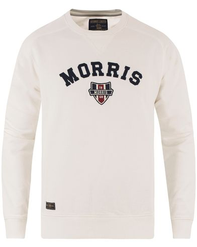 Morris Sayer Sweatshirt Off White i gruppen Kläder / Tröjor / Sweatshirts hos Care of Carl (13455311r)