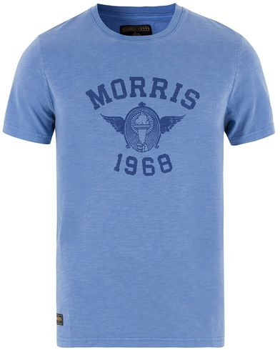 Morris Sam Tee Light Blue i gruppen T-Shirts hos Care of Carl (13455611r)