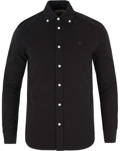 Morris Blake Piqué Shirt Sky Black i gruppen Kläder / Skjortor / Pikéskjortor hos Care of Carl (13455911r)