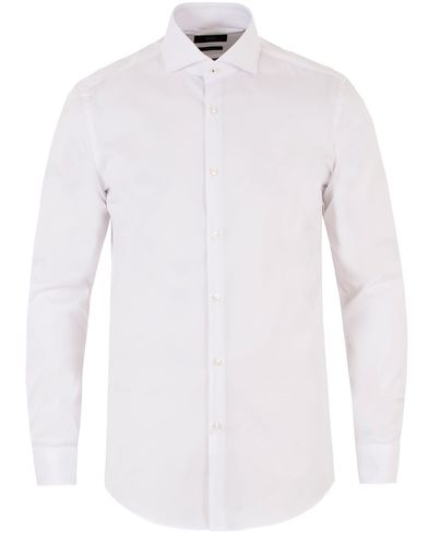Boss Jerrin Slim Fit Shirt White i gruppen Skjortor / Formella skjortor hos Care of Carl (13457211r)