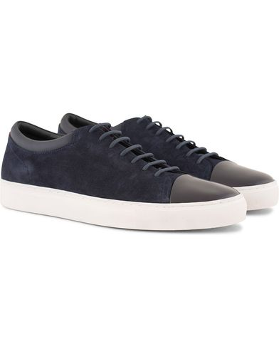 Hugo Casual Fut Tenn Cap Toe Sneaker Midnight Navy i gruppen Skor / Sneakers hos Care of Carl (13457711r)