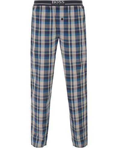 Boss Long Pyjama Check Pants Medium Blue i gruppen Underkläder / Pyjamas / Pyjamasbyxor hos Care of Carl (13458211r)