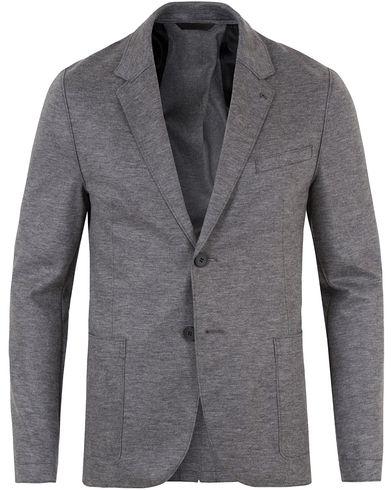 HUGO Alento Jersey Blazer Grey i gruppen Dressjakker / Enkeltspente dressjakker hos Care of Carl (13459711r)