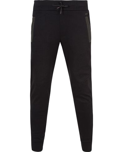 HUGO Drontier Sweatpants Black i gruppen Byxor / Mjukisbyxor hos Care of Carl (13459911r)