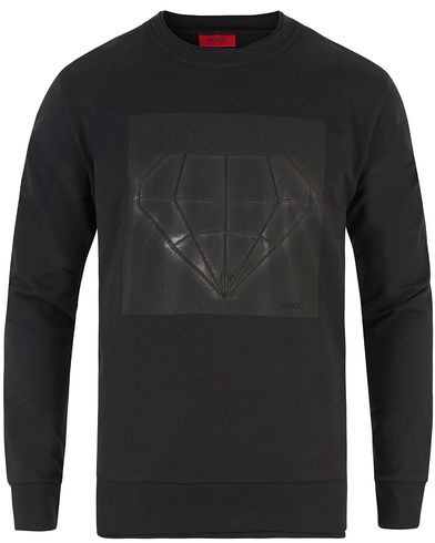 HUGO Dardust Diamond Sweatshirt Black i gruppen Klær / Gensere / Sweatshirts hos Care of Carl (13460011r)