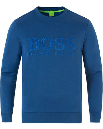 Boss Green Salbo Sweatshirts Monaco Blue i gruppen Design A / Gensere / Sweatshirts hos Care of Carl (13460811r)