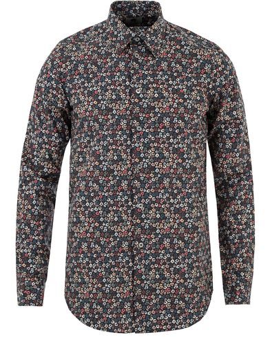 PS by Paul Smith Printed Flower Tailored Fit Shirt Multi i gruppen Skjortor / Casual skjortor hos Care of Carl (13462711r)