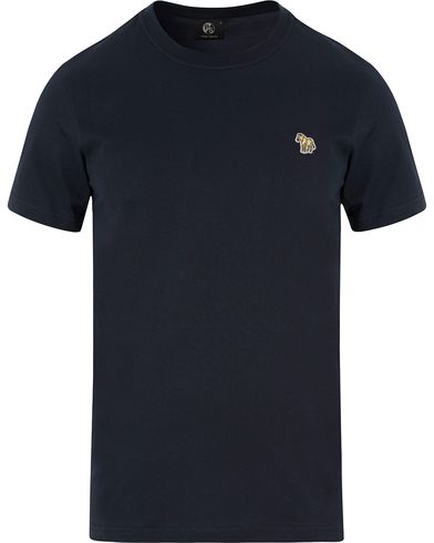 PS by Paul Smith Slim Fit Logo Tee Navy i gruppen Kläder / T-Shirts hos Care of Carl (13463011r)