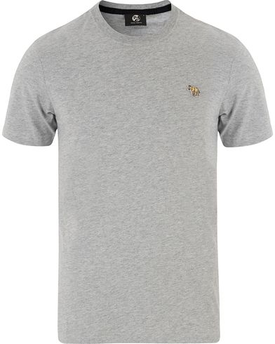PS by Paul Smith Slim Fit Logo Tee Grey Melange i gruppen Kläder / T-Shirts / Kortärmade t-shirts hos Care of Carl (13463111r)