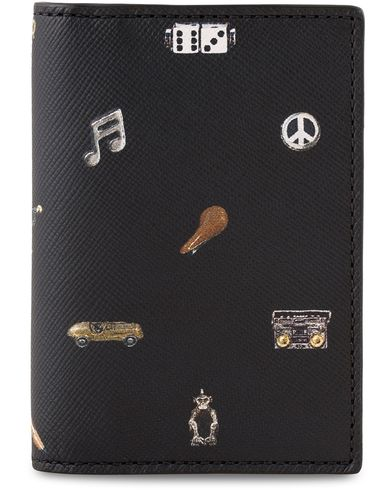 Paul Smith Credit Card Wallet Cufflink Print  i gruppen Accessoarer / Plånböcker / Korthållare hos Care of Carl (13463710)