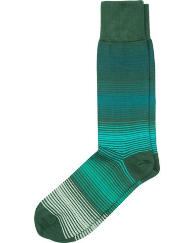 Paul Smith Fine Grade Sock Green  i gruppen Undertøy / Sokker / Vanlige sokker hos Care of Carl (13464010)