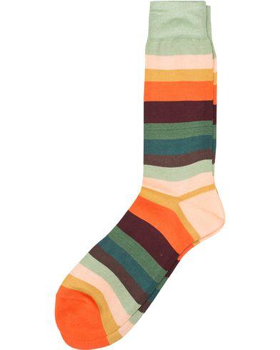 Paul Smith Signature Stripe Sock Multi  i gruppen Kläder / Underkläder / Strumpor / Vanliga strumpor hos Care of Carl (13464210)