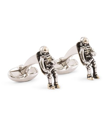 Paul Smith Space Man Cufflinks Brass  i gruppen Accessoarer / Manschettknappar hos Care of Carl (13464710)