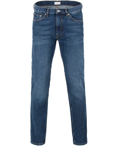 Gant Rugger R. Liam Tapered Fit Midwash Blue i gruppen Jeans / Avsmalnande jeans hos Care of Carl (13465811r)