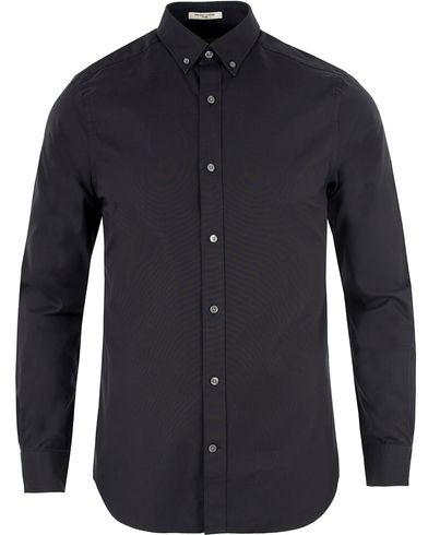 Gant Diamond G G. Pinpoint Oxford Fitted Body Shirt Black i gruppen Skjorter / Oxfordskjorter hos Care of Carl (13466211r)