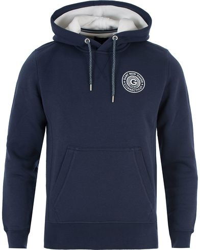 Gant New Haven Sweat Hoodie Thunder Blue i gruppen Kläder / Tröjor / Huvtröjor hos Care of Carl (13469111r)