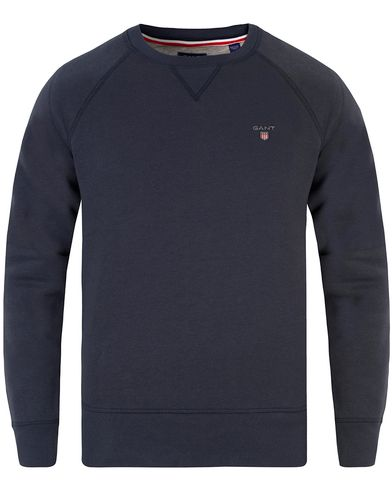 Gant The Original C-Neck Sweat Marine i gruppen Tröjor / Sweatshirts hos Care of Carl (13470511r)
