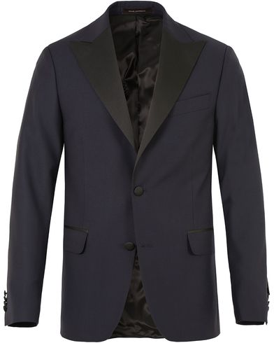 Oscar Jacobson Elder Peak Lapel Tuxedo Navy i gruppen Kläder / Kavajer / Smokingkavajer hos Care of Carl (13470711r)