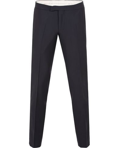 Oscar Jacobson Duke Tuxedo Trousers Navy i gruppen Kläder / Byxor / Smokingbyxor hos Care of Carl (13470811r)