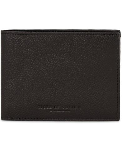 Tiger of Sweden Legoni Leather Wallet Black  i gruppen Assesoarer / Lommebøker / Vanlige lommebøker hos Care of Carl (13472110)