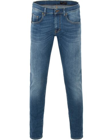 Tiger of Sweden Jeans Slim Park Jeans Mid Blue i gruppen Kläder / Jeans / Smala jeans hos Care of Carl (13472811r)