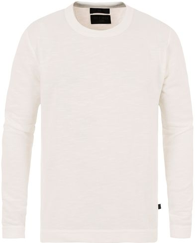 Tiger of Sweden Jeans Zeb Knitted Sweatshirt Off White i gruppen Tröjor / Sweatshirts hos Care of Carl (13473111r)