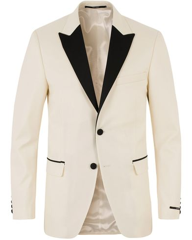 Tiger of Sweden Nobel 3Tuxedo Blazer Lt Ivory i gruppen Kavajer / Smokingkavajer hos Care of Carl (13473711r)